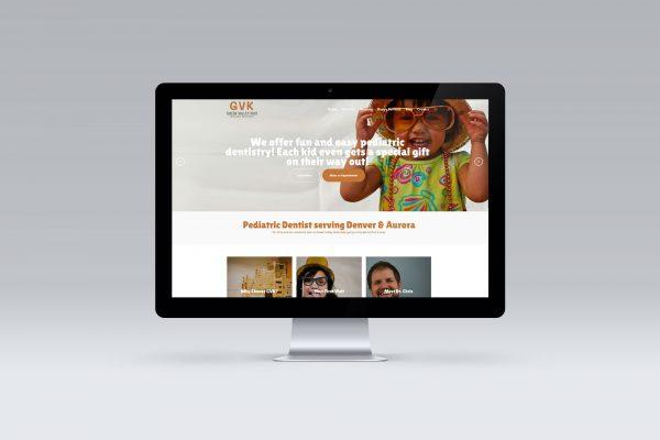 Big Buzz Green Valley Kids Website Design