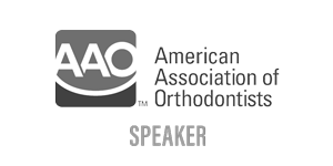 American Association of Orthodontists Speaker Logo