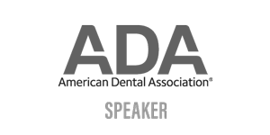 American Dental Association Speaker Logo