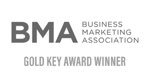 Business Marketing Association Gold Key Award Winner Logo