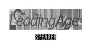 Leading Age Speaker Logo