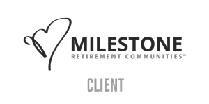 Milestone Retirement Communities Client Logo