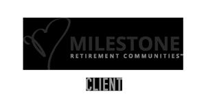 Milestone Retirement Communities Client Logo