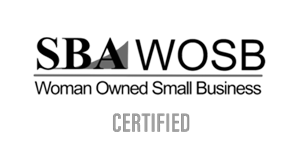 Woman Owned Small Business Certified Logo