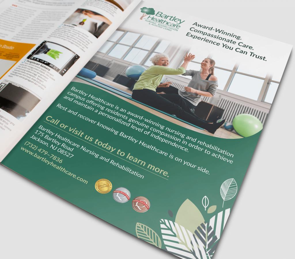 Bartley Healthcare Print Ad