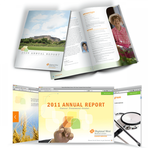 Regional West Medical Center 2011 Annual Report Sample Work
