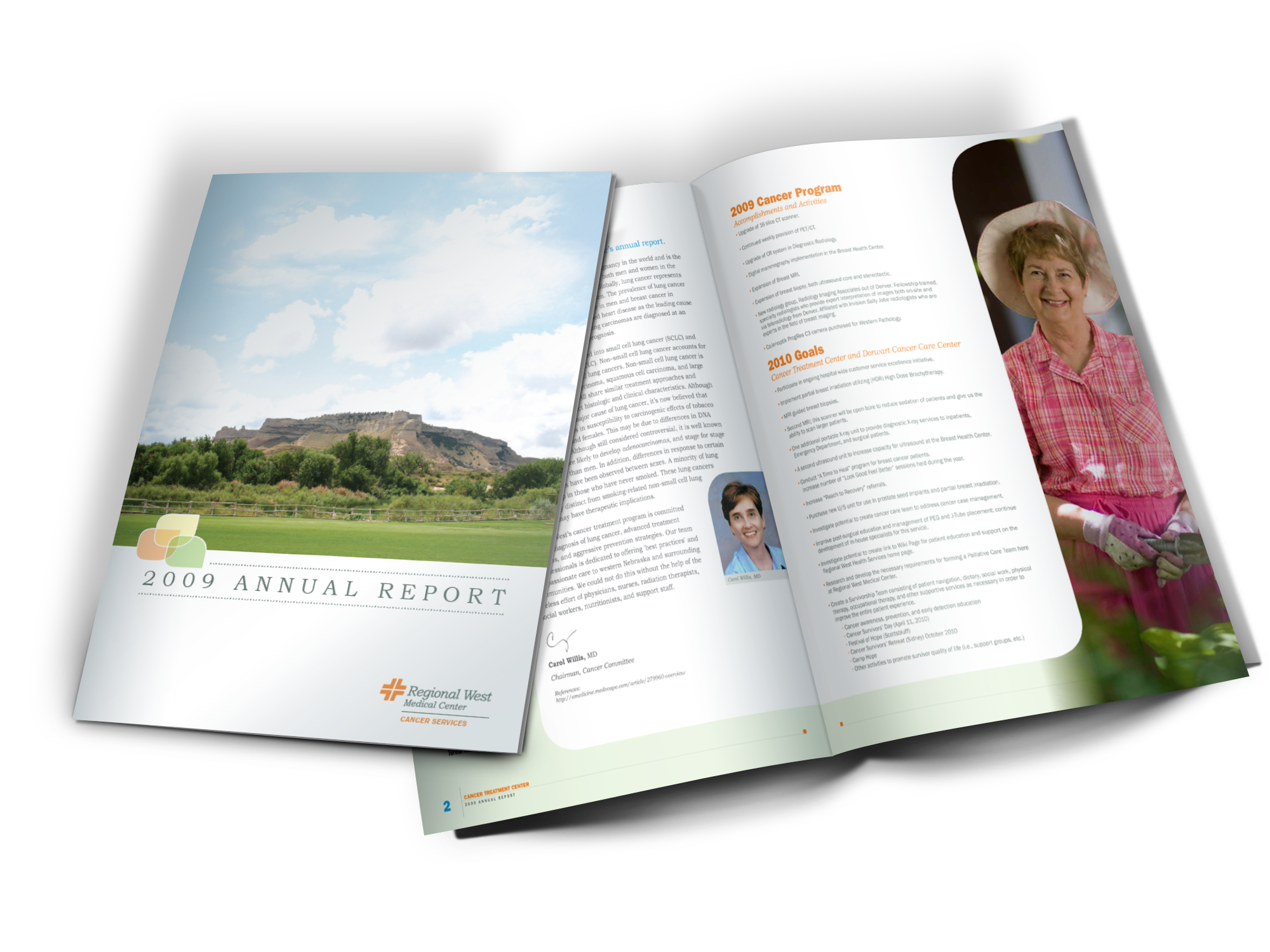 Regional West Medical Center 2011 Annual Report Booklet Sample
