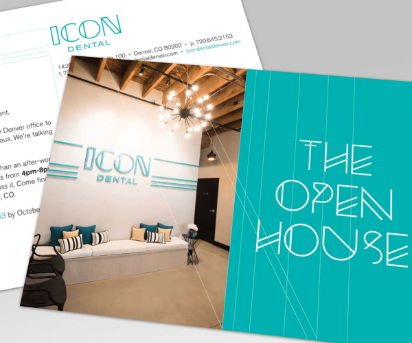Icon Dental Open House Invitation
