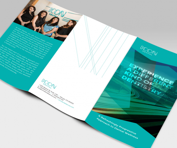 Icon Dental Tri-fold Brochure