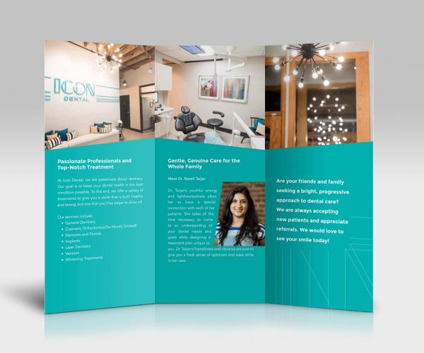 Icon Dental Tri-fold Brochure
