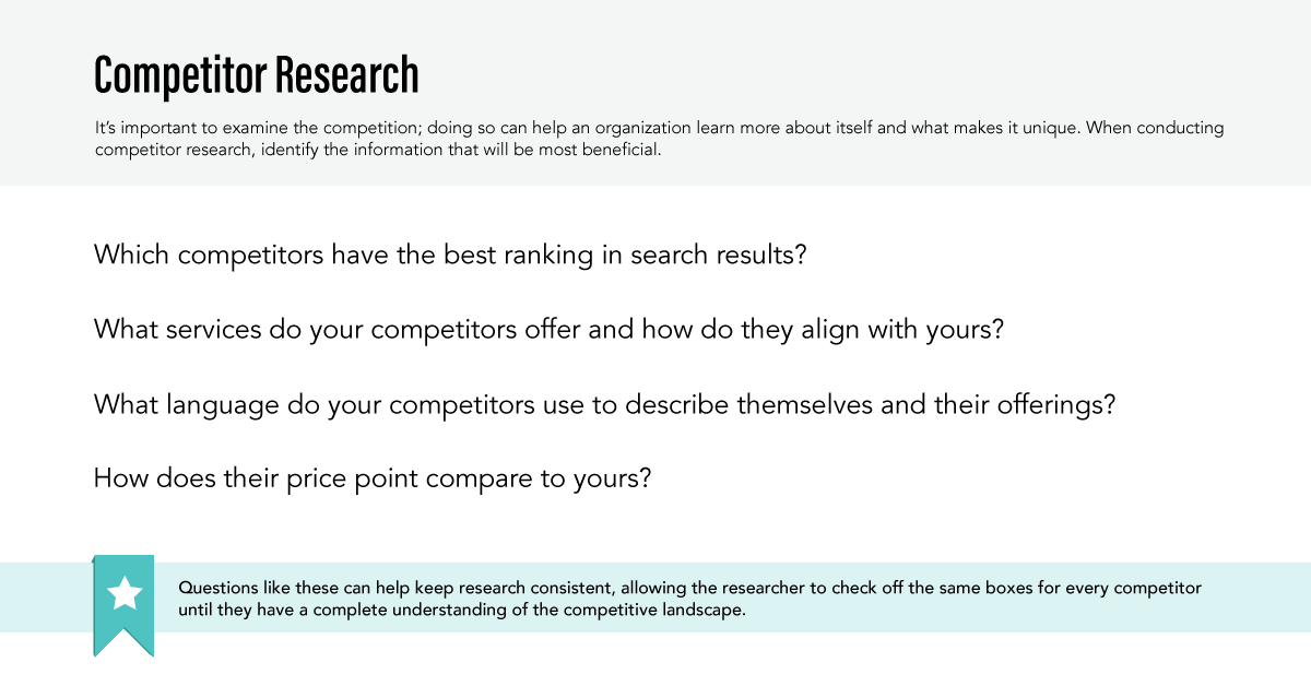 Big Buzz Competitor Research