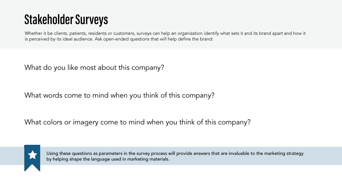 Big Buzz Stakeholder Surveys Graphic