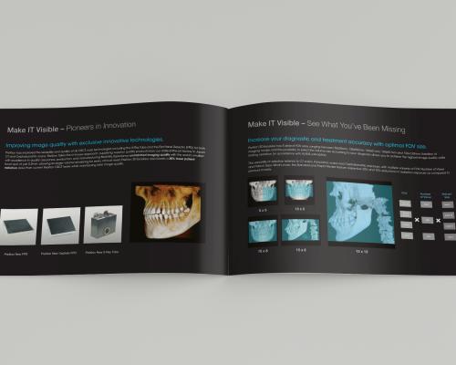 PreXion Brochure Inside Design
