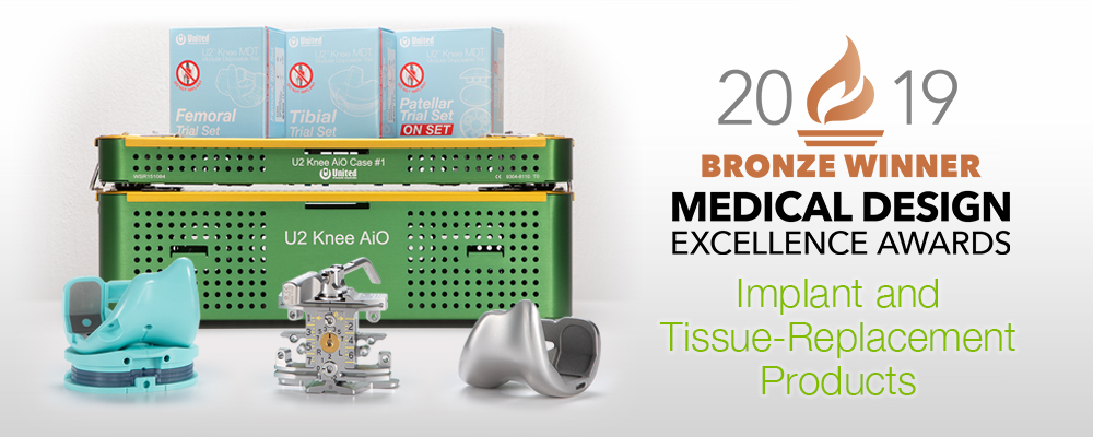 2019 Medical Design Awards Bronze Winner Graphic