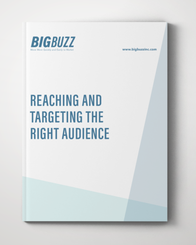 Big Buzz Reaching and Targeting the Right Audience
