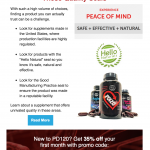 PD120 Email Campaign for Sales