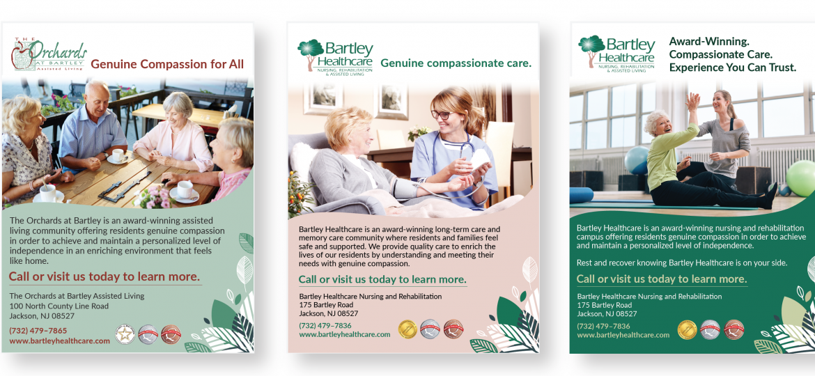 Bartley Healthcare Print Ads
