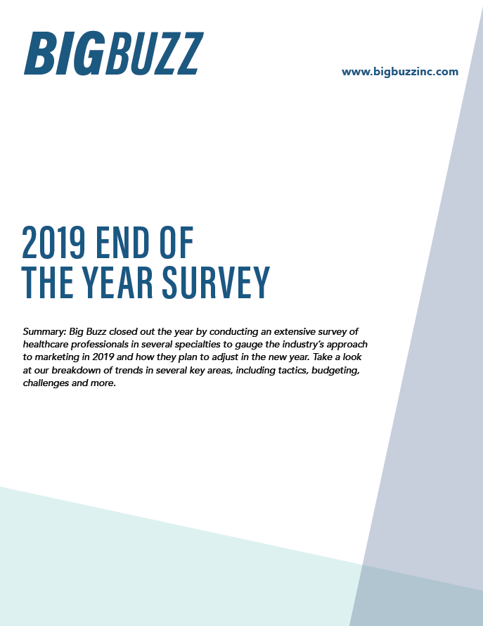 2019 End of the Year Survey cover