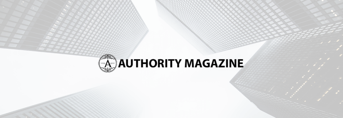 Authority Magazine logo header