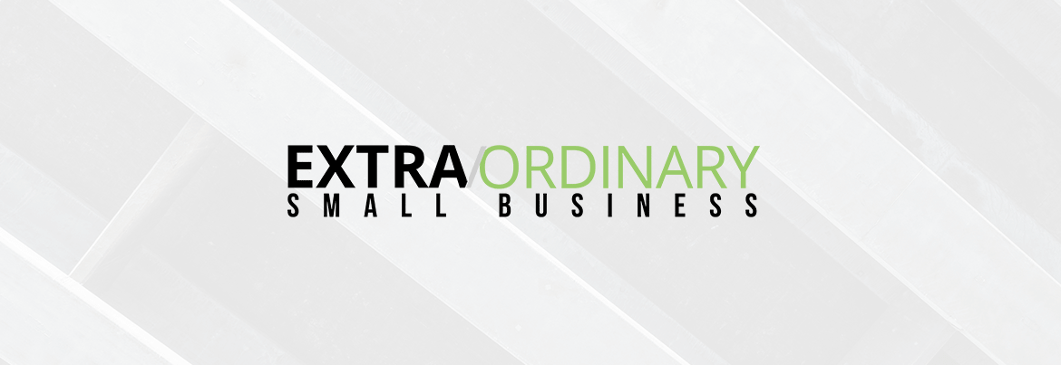 ExtraOrdinary Small Business Logo Header