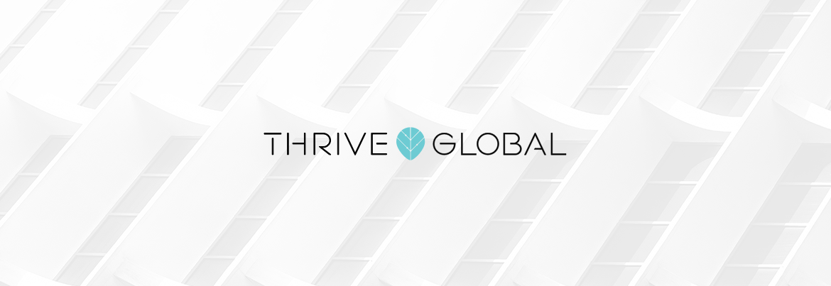 Thrive Global logo header