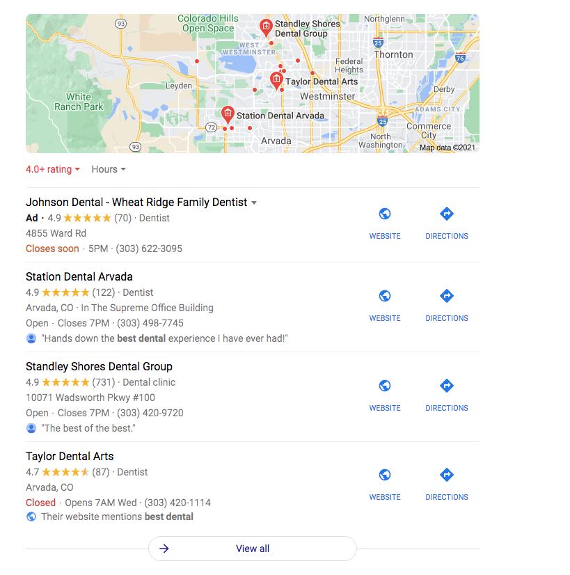 Google Local Search Ads